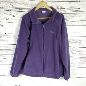 Columbia full zip fleece size 3X